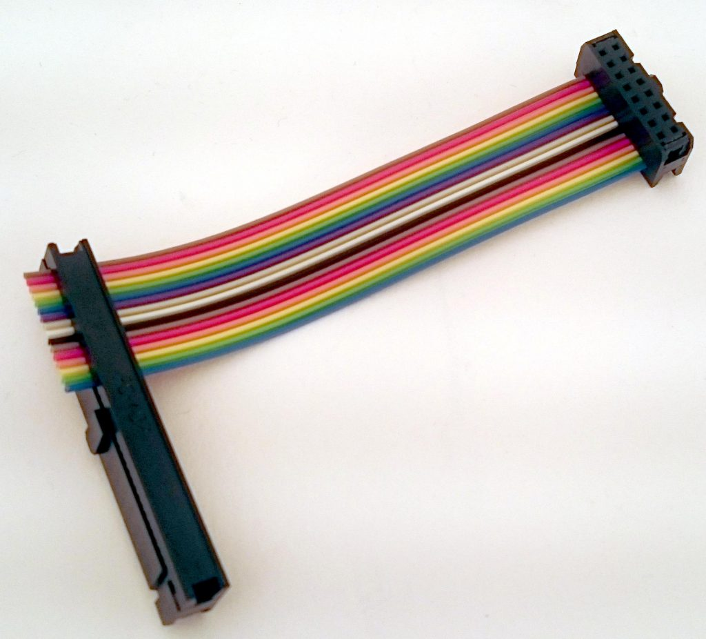 Ready-made flat ribbon cable