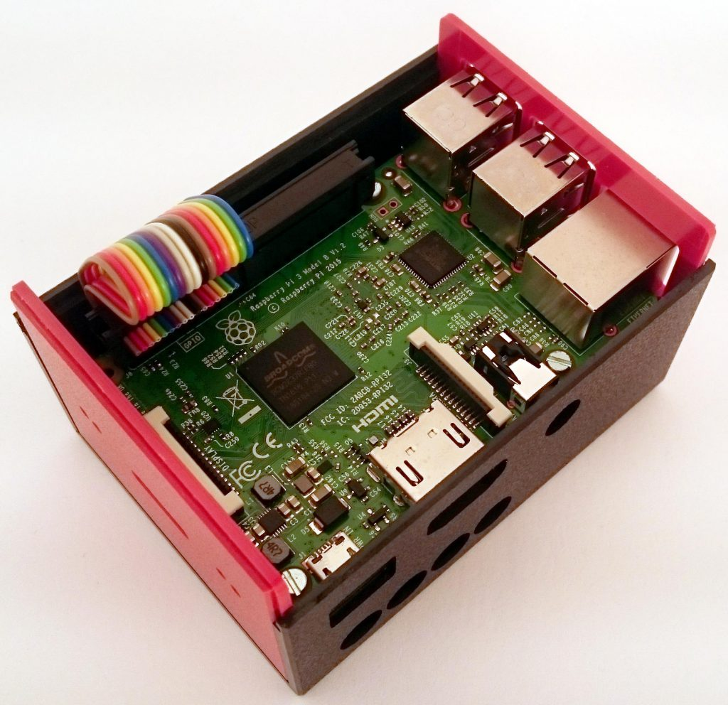 Housing with Raspberry Pi